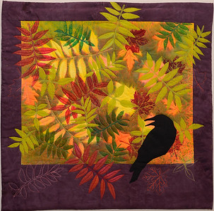 Fall Fantasy with Crow  -  Linda Morand