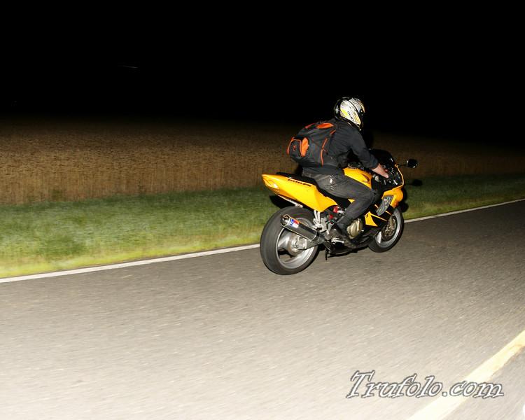 Motorcycle Night Work,