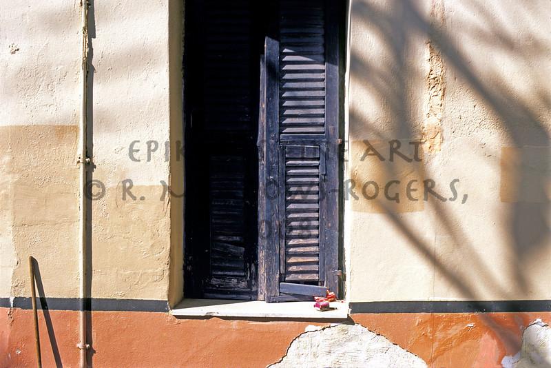 dada De Stijl (Olympian, Greece)<br /> © R. Meadows-Rogers, 2004