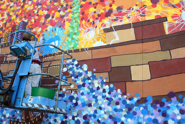 Mural in Fitchburg is finished