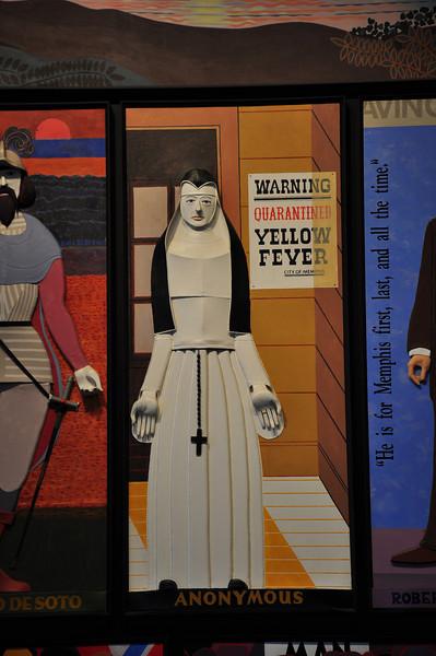 Faiers' yellow fever nun