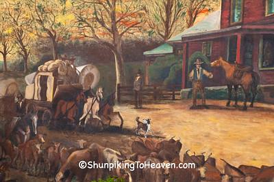 Historical Mural, Reynoldsburg, Ohio