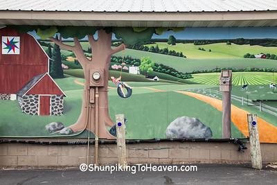 Countryside Mural, Wittenberg, Wisconsin