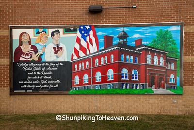 School Mural, Wittenberg, Wisconsin