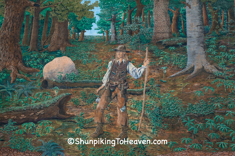 Johnny Appleseed Mural, Richland County, Ohio