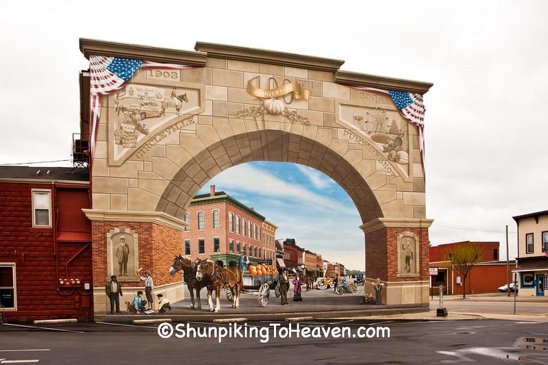 Pumpkin Show 100th Anniversary Mural, Circleville, Ohio