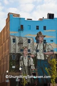 Pioneer Mural, St. Joseph, Missouri