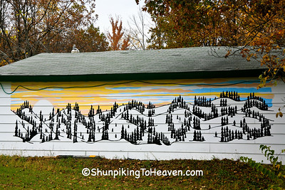 Sunny Slopes Mural, Richland County, Wisconsin