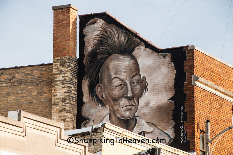 Black Hawk Mural, Fort Atkinson, Wisconsin