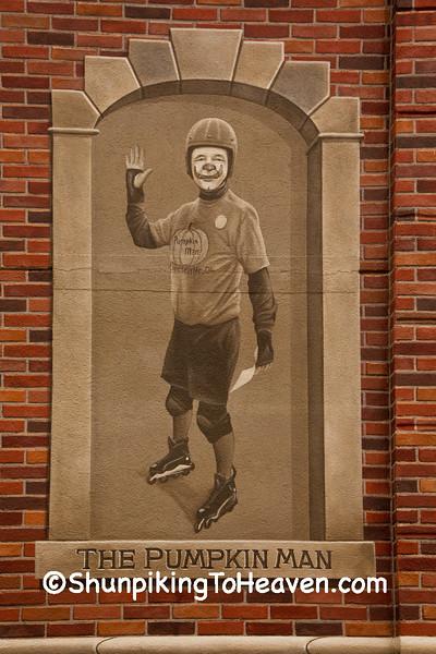 The Pumpkin Man Mural, Circleville, Ohio