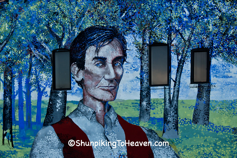 Young Abraham Lincoln Mural, Springfield, Illinois