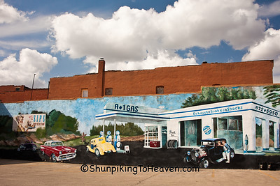 A-1 Gas Mural, Streator, Illinois