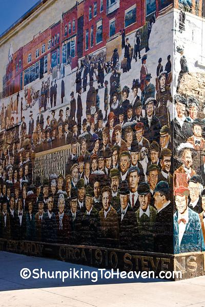Market Square Mural, Stevens Point, Wisconsin