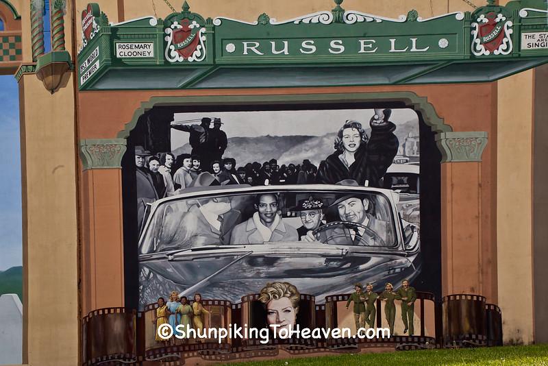 Rosemary Clooney Mural, Maysville, Ohio