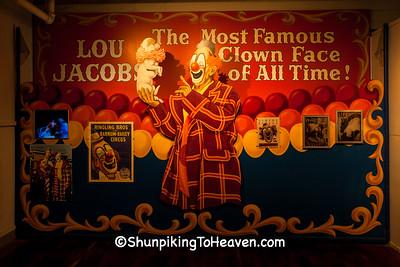 Clown Display, Circus World Museum, Baraboo, Wisconsin