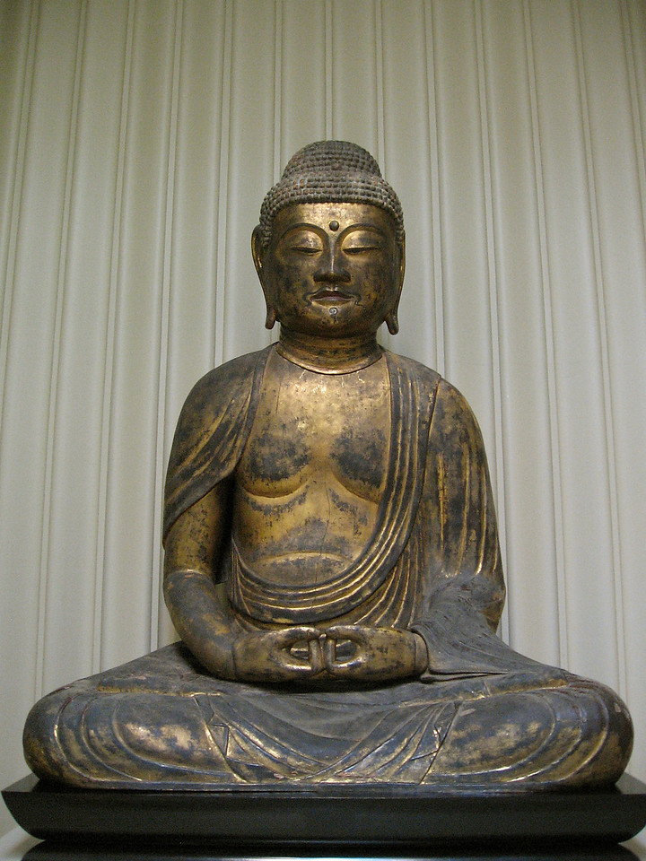 Seated Buddha (very large)