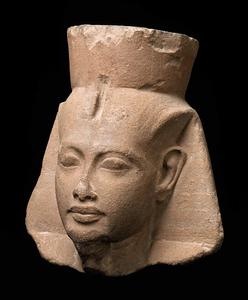 Head of King Tutankhamen