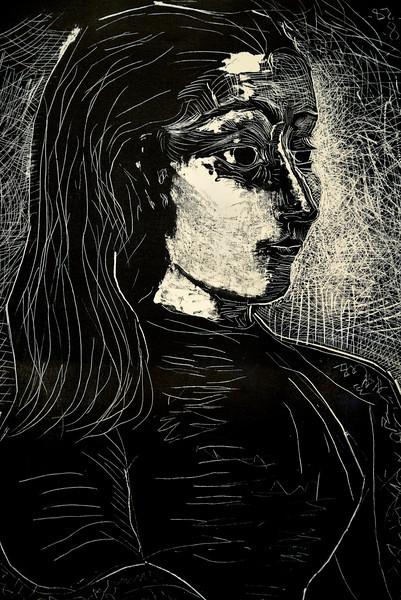 Scratch Art young girl