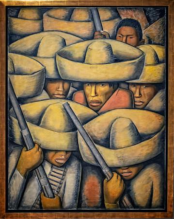 Alfredo Ramos Martinez 1932 - Zapatistas