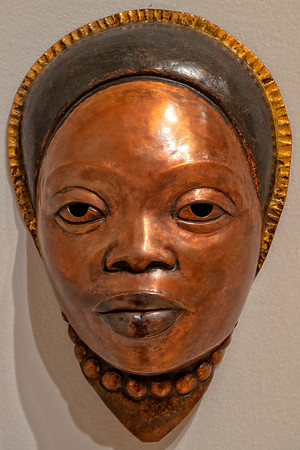 Copper mask 2 -African