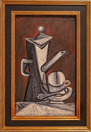Pablo Picasso 1944 - Nature morte la cafetiere
