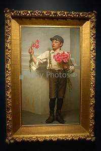 Boy with Flowers, Birmingham, AL