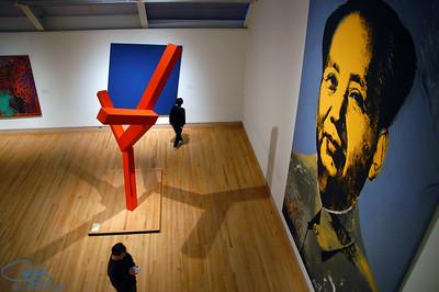 Ni hao, Mao!  The Met, NYC
