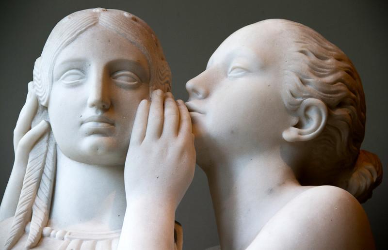 Francois Jouffroy : Premier Secret Confié à Venus (First secret entrusted to Venus) 1839 Musée du Louvre (Paris)