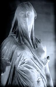 Antonio Corradini : La Foi : Femme voilée (18th Century)