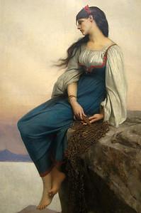Jules-Joseph Lefebvre : Graziella (1878) Oil On canvas