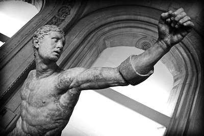 Agasias d'Ephese : Guerrier combattant, aka Borghese Gladiator  Around 100 BC