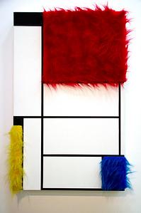 Sylvie Fleury  Tableau No.1 (1992) Beaubourg (Musee National d'Art Moderne) Paris