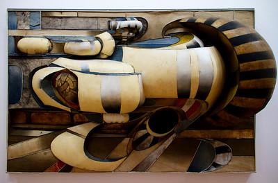 Lee Bontecou Untitled (1966) Beaubourg (Musee National d'Art Moderne) Paris