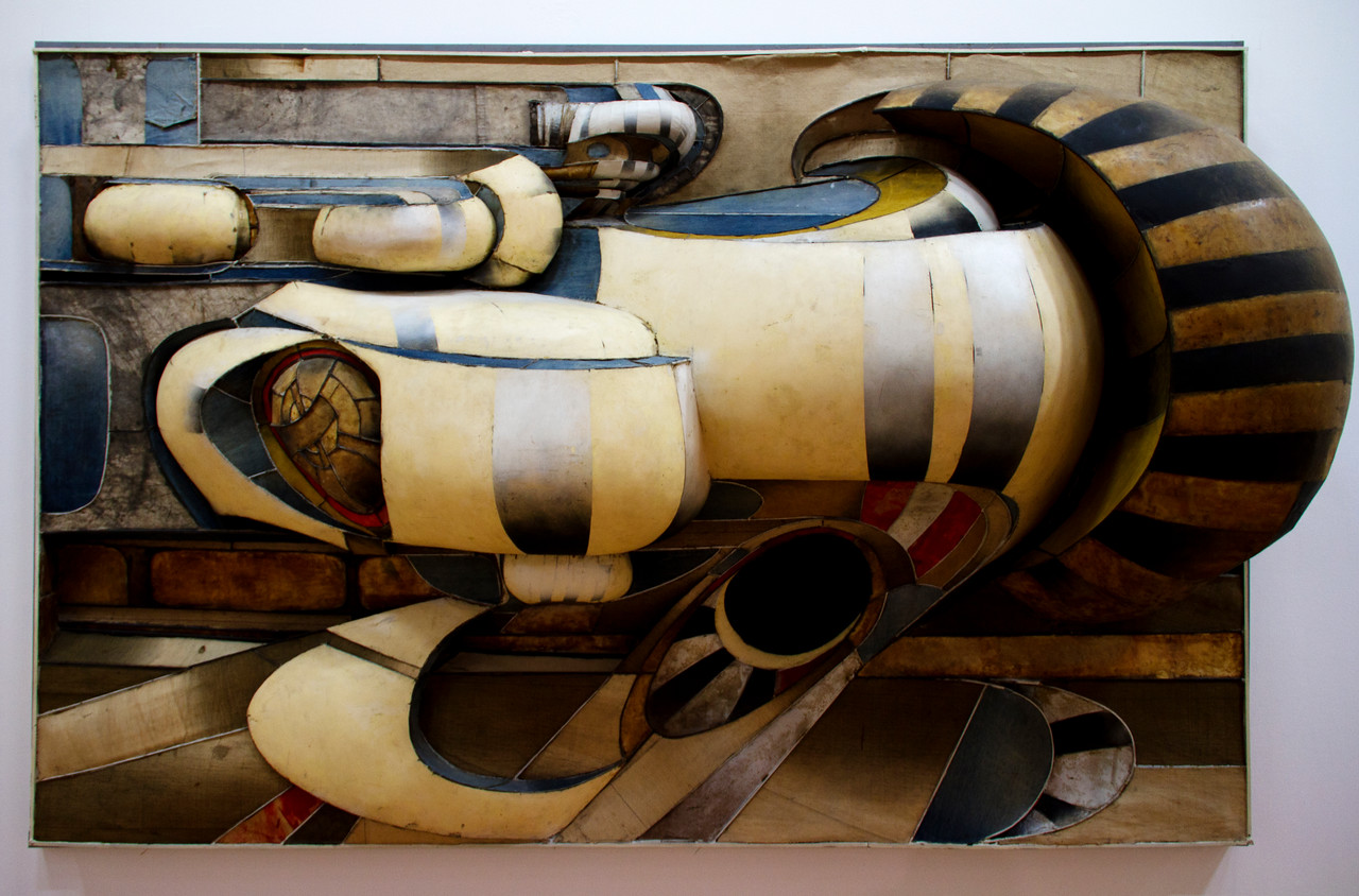 Lee Bontecou Untitled (1966) Beaubourg (Musee National d'Art Moderne) Paris