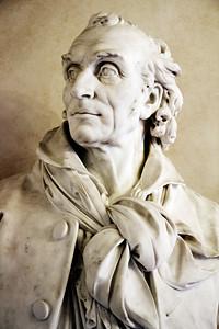 Charles-François Iguel : Buste de Jean-Antoine Houdon