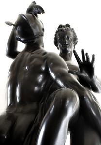 adriaen de vries  Mercure Enlevant Psyché (1593) Le Louvre, Paris