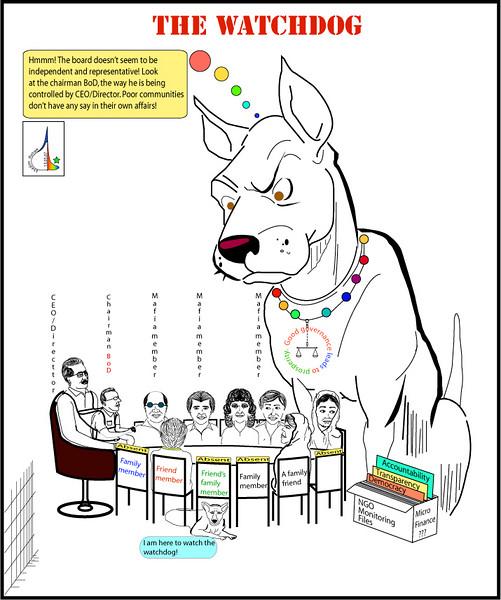 The watchdog and NGO-mafia!