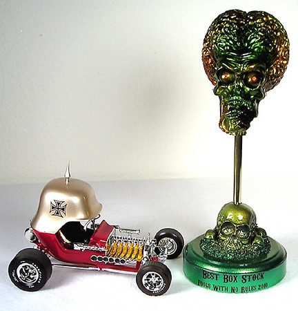 Nice Red Baron showrod with trophy