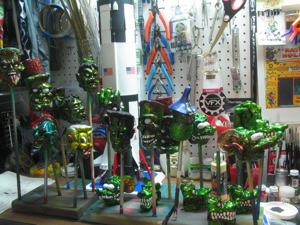 A gaggle of shifters on the bench.  I love it when it looks like this!!!!