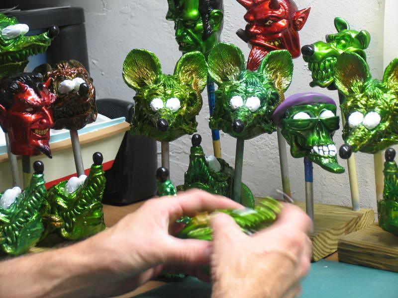 Rat assembly line