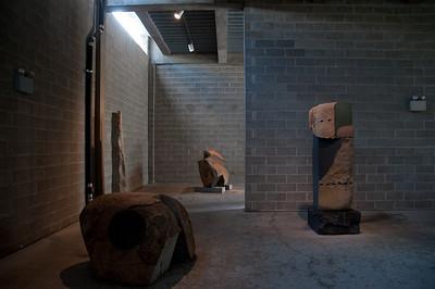 NOGUCHI MUSEUM IN QUEENS - 14 AUG 2009