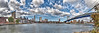 From Brooklyn to Manhattan<br /> Canvas wrap available in sizes from 10x30 - 20x60