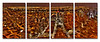 Empire Point of View - Quatric<br /> Metal print quatric made of 4 16x20 panels