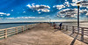Coney Pier<br /> Canvas wraps available in sizes from 10x20 - 60x30