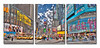 Times 3 - Tryptic<br /> Metal Print tryptic made of 3 20x24s panels