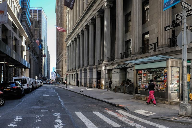 Wall Street & William Street NYC