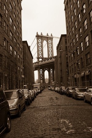 Manahattan Bridge View in DUMBO