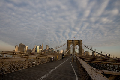 Brooklyn Bridge Surreal Scenic