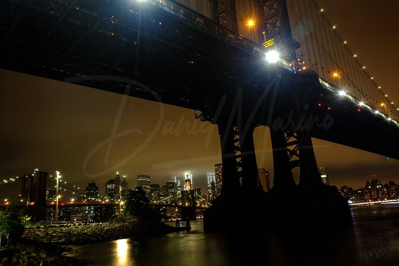A Moody NYC Skyline