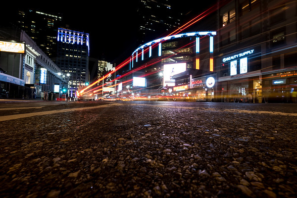 8th Avenue & 29th Street at Night